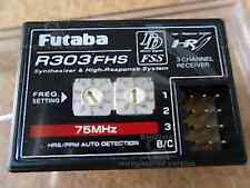 Futaba R303FHS FM75 3 Channel SYNTHESIZED Receiver