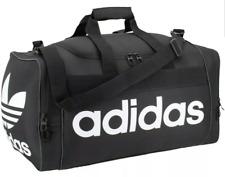 Adidas Originals Santiago Duffel Bag Black / White One Size Brand New