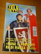 TELESETTE 1996/39=MASSIMO GILETTI=KEVIN SORBO=LICIA COLO=ANTONIO SABATO JUNIOR
