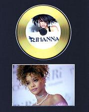 Rihanna Gold Disc Display #5