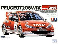 24267 Tamiya 1/24 Peugeot 206 WRC Version 2003 Kit