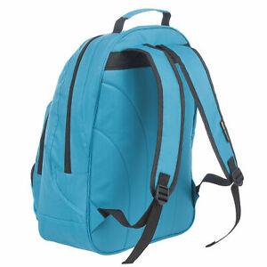 Mens Large Plain Blue Backpack Rucksack Bag - SPORTS HIKING TRAVEL LEISURE