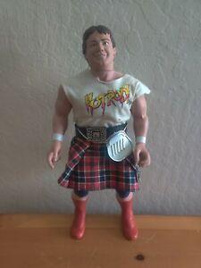 "WWF LJN Toys Wrestling Superstars 16"" ""Rowdy"" Roddy Piper Wrestling Figure"