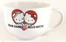 Hello Kitty Dear Daniel Large Oversized Coffee Mug Cup Sanrio