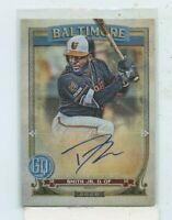 DWIGHT SMITH Jr. 2020 Topps Gypsy Queen Auto Autograph #GQA-DSJ Baltimore