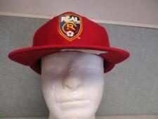 New RSL Real Salt Lake Mens Adult Size OSFA Flatbrim Snapback Cap Hat $28