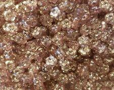 500 pcs Lavender Rhinestone Flower Diamonettes Plastic Craft Jewelry Beads