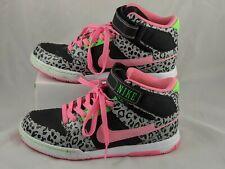 Nike Air Mogan Mid Shoes Neon Leopard 7.5