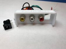 NES 101 video add-on board, power led and 3D Printed Back *A/V out* NES top load