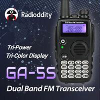 Radioddity GA-5S Dual Band VHF/UHF *7W* 128CH Emisora Transcept > Baofeng 5R TP