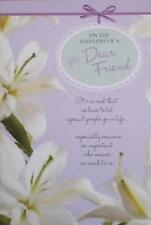 Sympathy And Condolence Card Loss Of A Dear Friendtop Quality G230