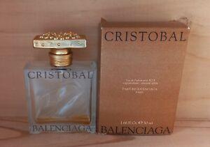 Cristobal Eau de Parfum Balenciaga 50 ml Vide