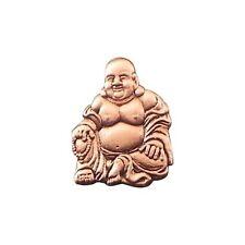 Bouddha Broche Badge / Buddah Bouddhiste Cuivre Ton Cadeau Neuf avec Étiquette /