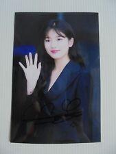 Suzy Bae Miss A 4x6 Photo Korean Actress KPOP autograph signed USA Seller A9