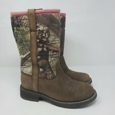 Ariat Fatbaby All Weather Camouflage Round Toe Cowgirl Boots Size 7.5B