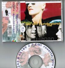 "ROXETTE You Don't Understand Me JAPAN 5"" MAXI CD TOCP-8675 w/OBI+P/S BOOKLET"
