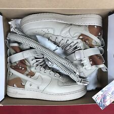NIKE SPECIAL FIELD SF AIR FORCE 1 AF1 DESERT CAMO STONE BROWN 864024-202 SZ 10.5