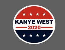 Kanye West 2020 Presidential Bumper Sticker Kanye 2020 Stickers Die Cut Sticker