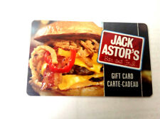 2x JACK ASTORS BAR AND GRILL Limited Edition Gift Card New No Value RECHARGEABLE