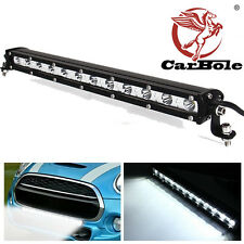 15INCH 36W 4320lm Cree White LED Spot Light Bar Driving Offroad Work Lamp SUV