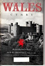 Wales Cymru An Introduction to Wales D R Grenfell 1948 Booklet