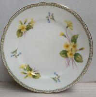 Vintage Shelley China Primrose Side Plate c1945-66 Gilt Trim Made in England