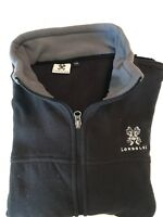 Black Londolozi Fleece Jacket Size Medium