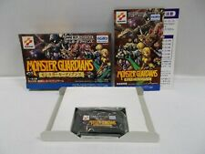 GBA -- Monster Guardians -- Box. Can data save! Game Boy Advance, JAPAN. 33169