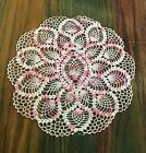 Vintage+9+pc+Lot+Pink+%26+White+Doilies+Antimacassar+Various+Sizes+Sets+Variegated