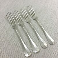 Antique Christofle Silver Plated Cutlery Flatware Baguette Fidelio Large Forks
