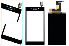 "BLK Touch Screen Digitizer+LCD Sony Xperia M2 4.8"" S50h D2302 D2303 D2305 D2306"
