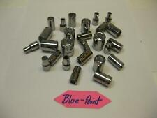 Blue Point tools 1/4 drive SAE and Metric Sockets. Sold Each. Nice!