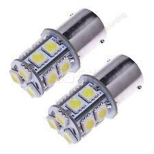 2 Ampoules 12v 13 SMD 5050 LED blanc 1156 BA15S R10W de feu de position arrière