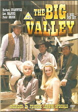 THE BIG VALLEY - 5 Feature Length Specials. Lee Majors (3xDVD BOX SET 2006)