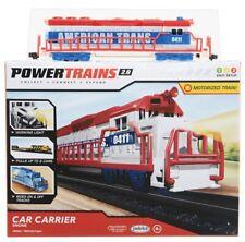 Power Trains 2.0 Car Carrier Engine Motorized Train Jakks Pacific Sealed NEW