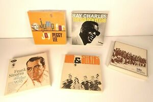 Reel-To-Reel Tapes - Ray Charles Frank Sinatra Peggy Lee Seekers - Lot of 5