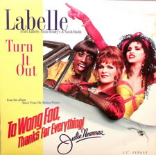"LABELLE - TURN IT OUT 12"" 33 4-MIX - IN EXCELLENT CONDITION - USA PRESSING"
