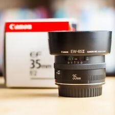 Canon EF 35mm f/2 + Boite d'Origine + Canon Hood EW-65II !! Super Offre !!