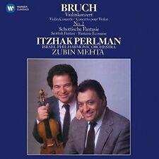 Itzhak Perlman, Zubi - Scottish Fantasy / Violin Concerto No 2 [New CD]