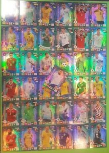 Panini Road to Russia 2018 Adrenalyn Trading Cards Fans'Favourite zum aussuchen