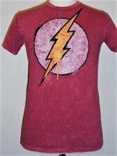 """distressed"" flock THE FLASH Logo T-shirt"