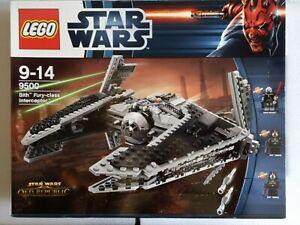 LEGO STAR WARS - SITH FURY CLASS INTERCEPTOR- 9500 - BNIB - UK DELIVERY