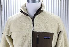 Patagonia Classic Retro-X Fleece Jacket Mens S small tan thick coat 23055 $139