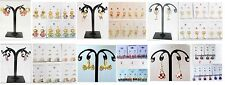 Wholesales Lots 6 pairs Multi Pairs Mixed Styles Stud and  Drop  Earrings #A33