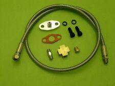 Burstflow HUILE ALIMENTATION tuyau set adapté pour tous les turbocompresseurs universal t3t4 bt35
