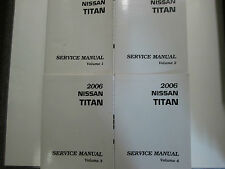 2006 Nissan Titan Truck Service Repair Shop Workshop Manual NEW Factory