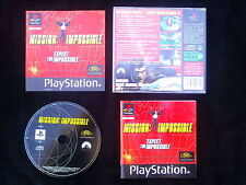 MISSION IMPOSSIBLE : JEU Sony PLAYSTATION PS1 PS2 (SLES-01906 COMPLET env.suivi)