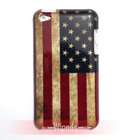 US United States USA National Flag Case Cover for iPod Touch 4 4th generation