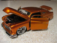 1951 PLYMOUTH  MERCURY DIE CAST 1:24 SCALE JADA COPPER SNAKE COLOR LEAD SLED