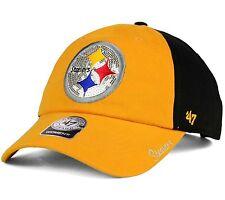 Pittsburgh Steelers '47 Brand Womens Sparkle 2-Tone Adjustable Strapback Cap Hat